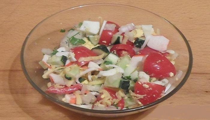 летний салат готов