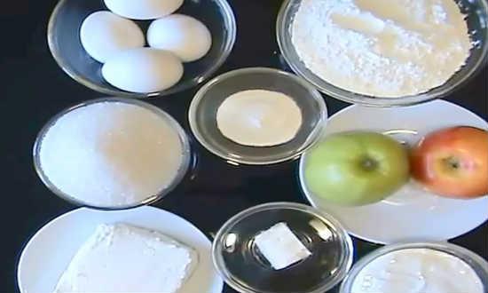 ингредиенты для сметанного