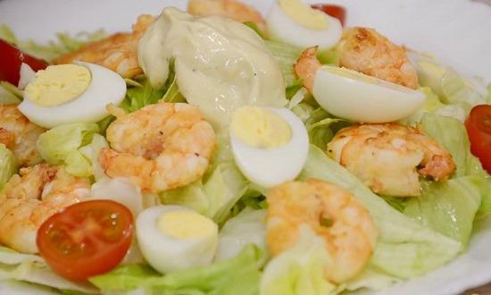 собрать салат