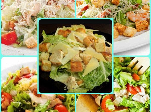 пример салатов