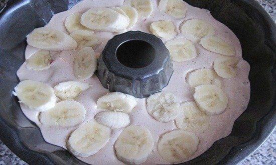 выложить бананы