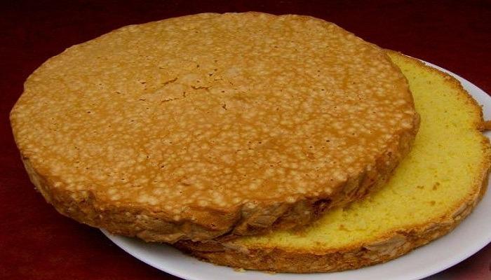 Бисквит для торта очень вкусный и простой рецепт в домашних условиях