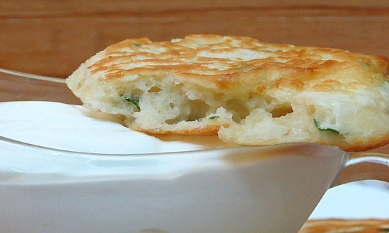 Фруктовые оладьи на кефире - рецепт пошаговый с фото
