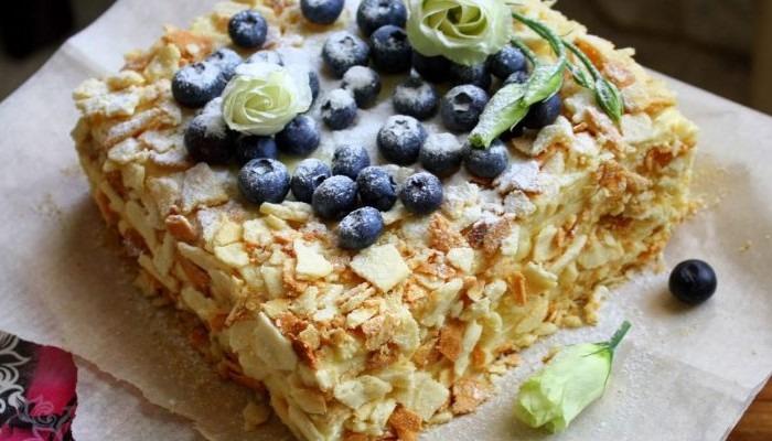 Самый вкусный торт Наполеон с заварным кремом, классические и постные рецепты на сметане, пиве, водке