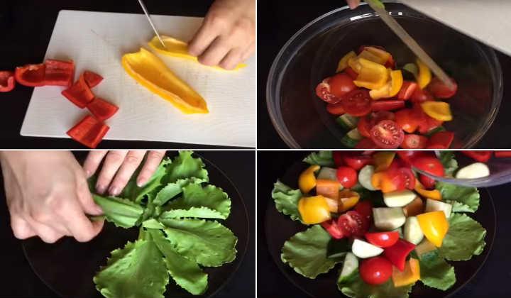 Классические рецепты греческого салата с фетаксой - как в ресторане