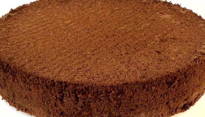 бисквит в мультиварке с какао