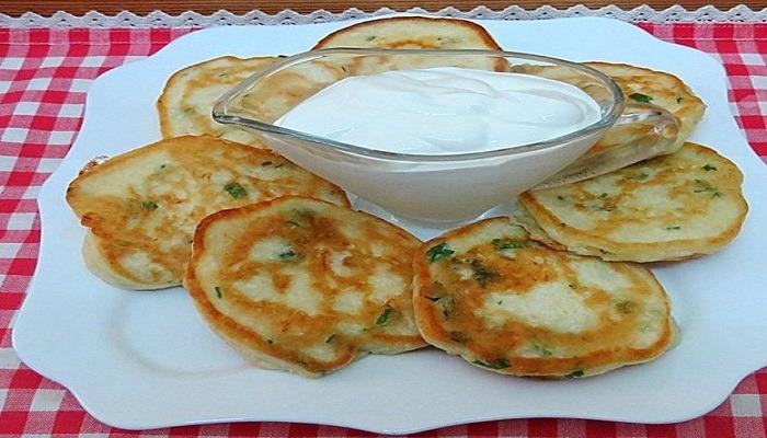 оладушки без яиц с картофелем