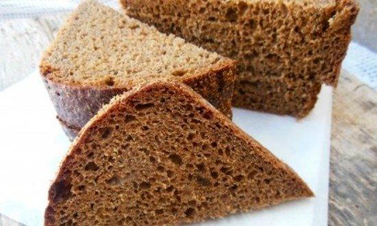 нарезать чёрный хлеб