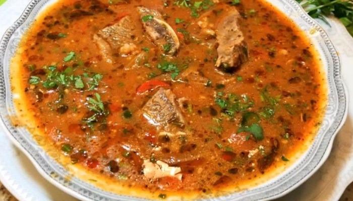 Классический суп «Харчо» из баранины