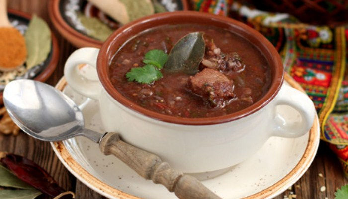 «Харчо» с рисом и свининой