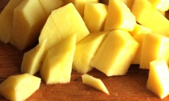 подготовить для супа картофель