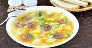 Самый вкусный суп с фрикадельками и вермишелью - Топ 6 простых рецептов
