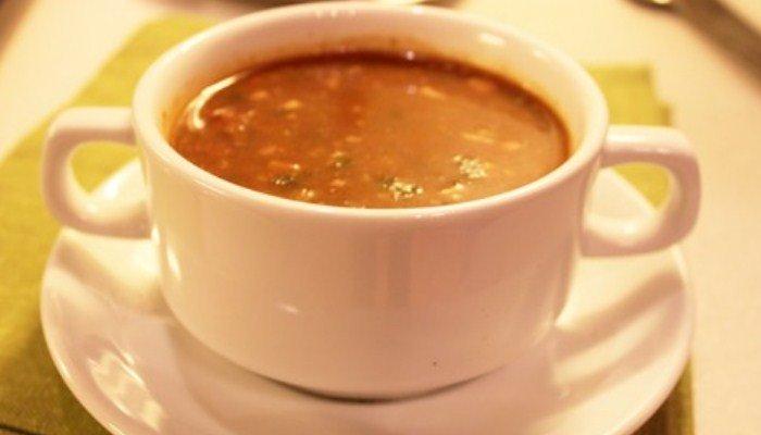 «Харчо» из баранины с черносливом
