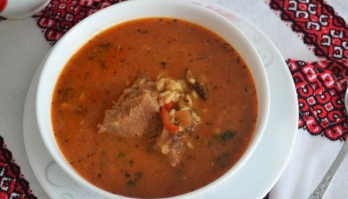 Суп «Харчо» из говядины