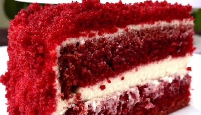 Торт «Красный бархат» от Ольги Матвей