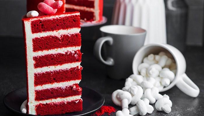 Новая версия торта «Красный бархат»