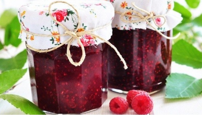 Варенье из малины без сахара на зиму