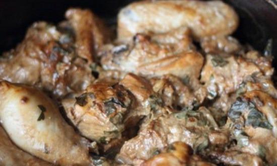 запечь курицу
