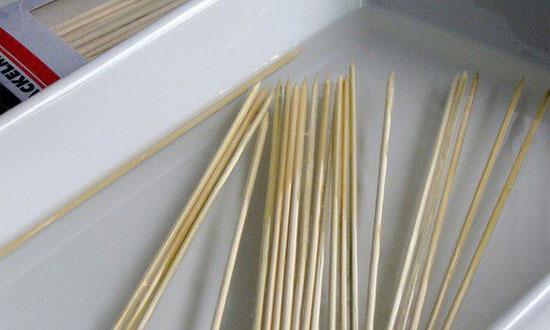 шпажки для шашлыка