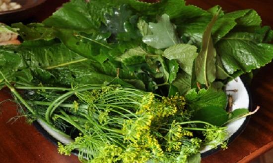 Зелень для маринования