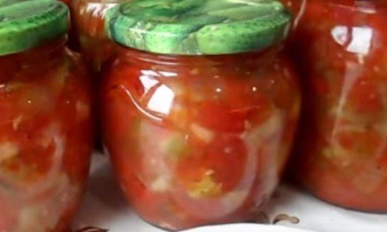 Главное фото салат с помидорами