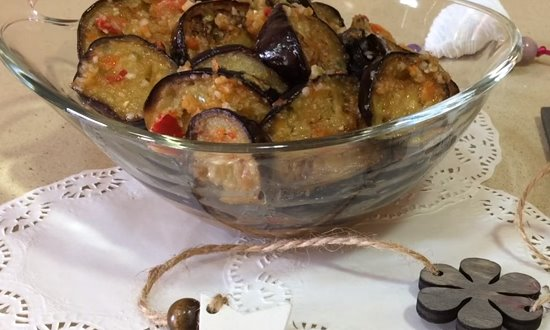 Салат - закуска из баклажан