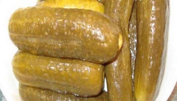 Солёные огурцы с горчицей на зиму