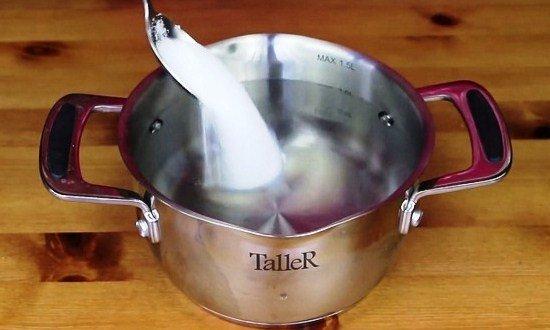 приготовить горячий рассол