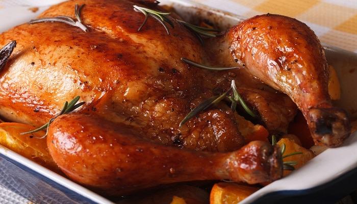 Курица запеченная целиком в рукаве в духовке - самые вкусные рецепты