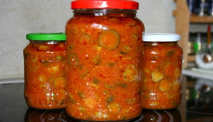 Салат из огурцоы по корейски с томатами