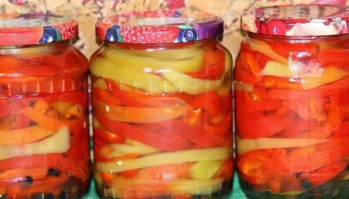 салат из помидор без стерилизации