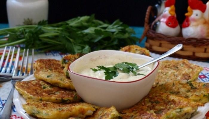 Как приготовить вкусные оладьи из кабачков и картошки