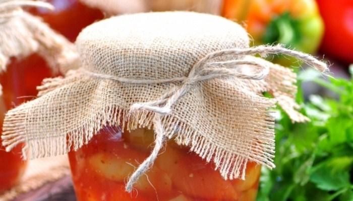 Лечо из болгарского перца на зиму с чесноком