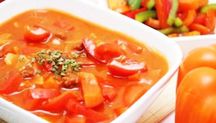 Лечо из болгарского перца на зиму с томатной пастой