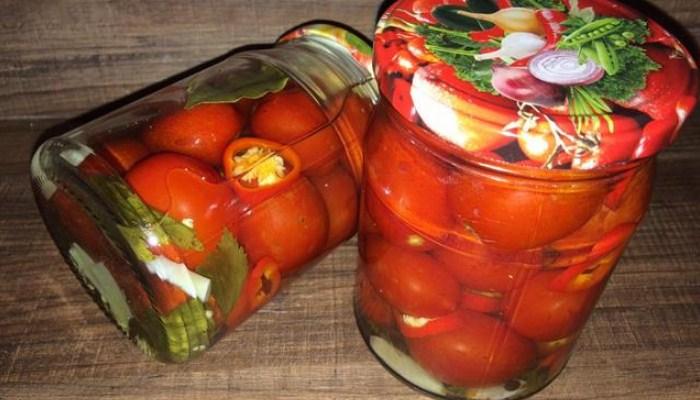 Пикантные томаты