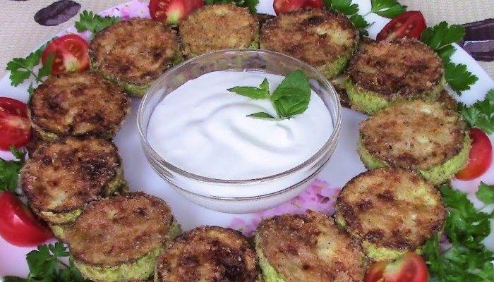 Кабачки жареные на сковороде просто и вкусно