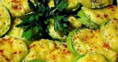 Кабачки в духовке - рецепты приготовления быстро и вкусно