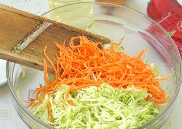 морковь и кабачки