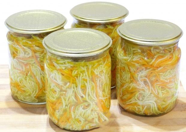 Кабачки по–корейски на зиму быстрого приготовления — 5 вкусных рецептов