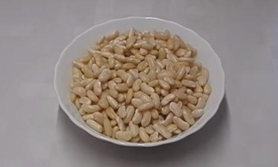 Варёная фасоль