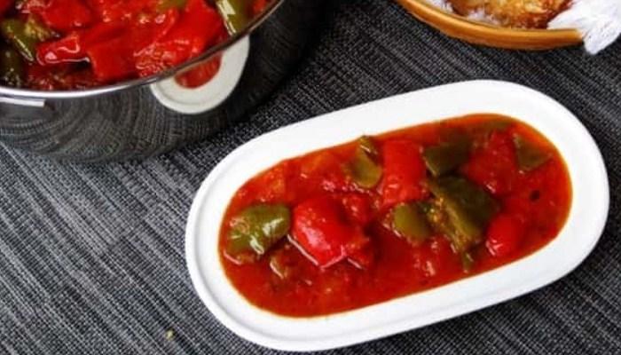 Пикантное томатное лечо