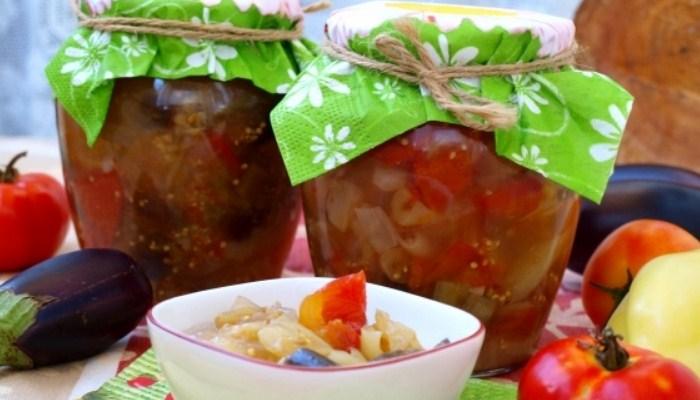 Соте из овощей на зиму