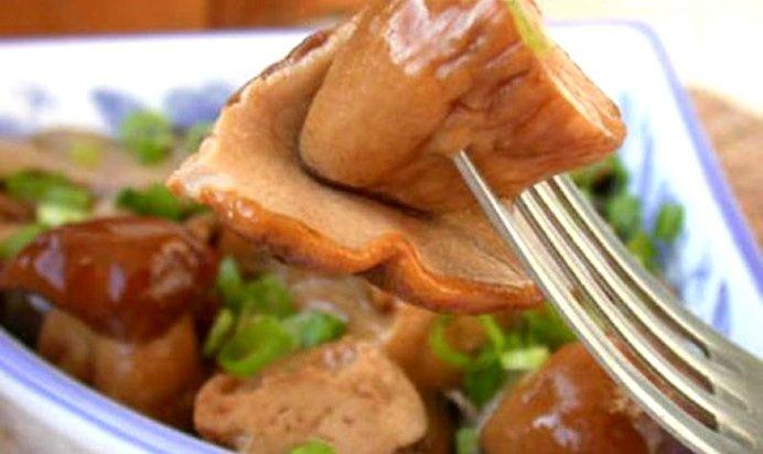 Самый простой рецепт маринованных боровичков
