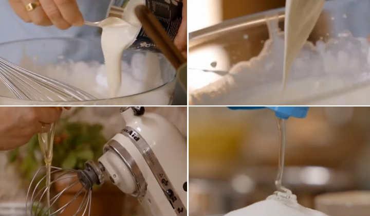 добавляем йогурт