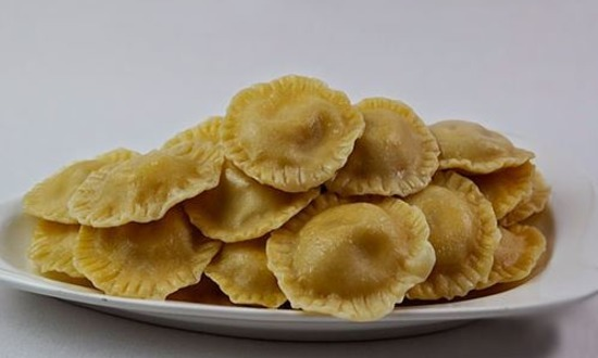 Творог с бананами и медом