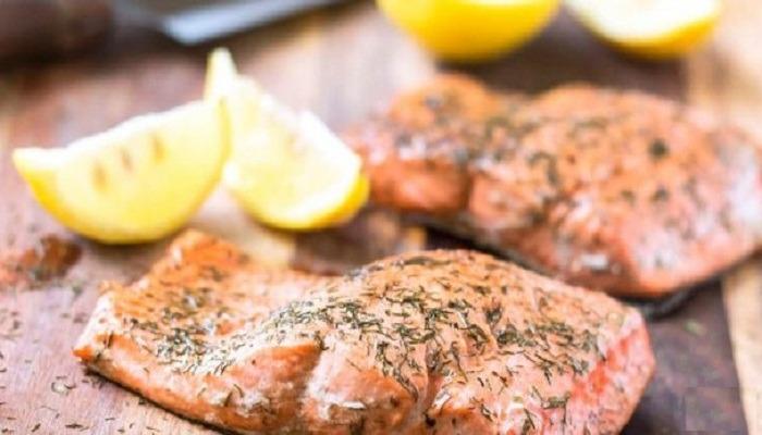 красная рыба под маринадом в духовке