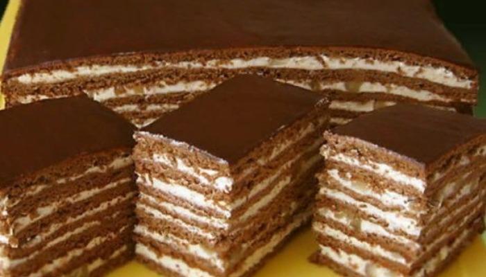 Торт «Спартак» классический