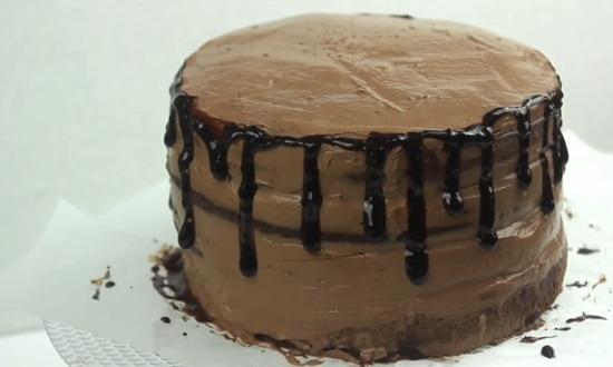 собираем весь торт