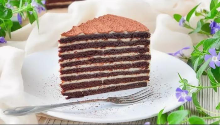 Торт «Спартак» со сметанным кремом