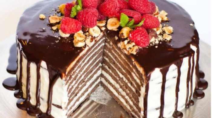 Классический торт Спартак